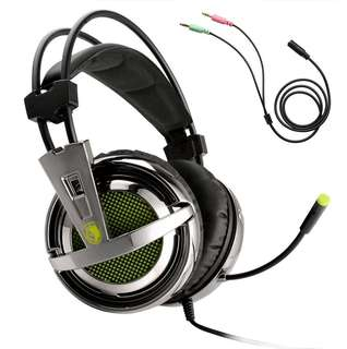 CHEAP!!  SADES SA-928 Gaming Headset!! (Green)