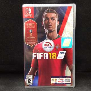 (Brand New) Fifa 18 World Cup Edition Nintendo Switch