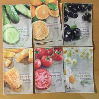 Nature Republic Real Nature Mask Sheet  - Masker Wajah