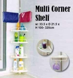 Mini corner shelf
