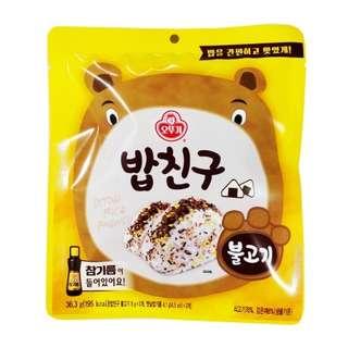 韓國食品批發 韓國 不倒翁 拌飯用調料系列