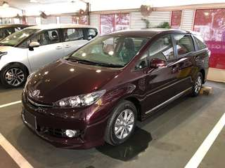 TOYOTA WISH 1.8 BRAND NEW
