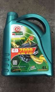 Engine Oil 20w/50 api sm/cf sythetic based