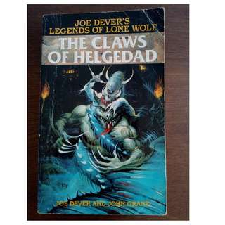 Legends of Lone Wolf Book 5 The Claws of Helgedad