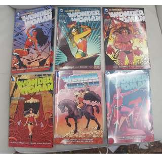 DC Comics New 52 Wonder Woman Vol.1 till Vol.6