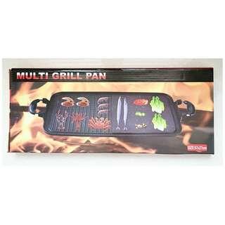 Multi Grill pan Jumbo alat paggang sehat praktis dan higeinis tanpa arang