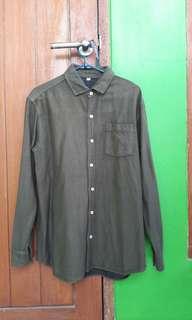 Guten Inc Olive Shirt