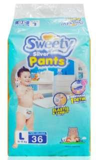 Sweety silver L36