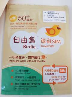 Birdie Travel SIM for China