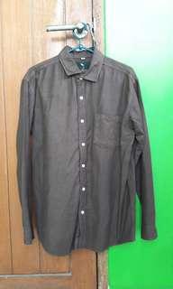 Guten Inc Brown Shirt
