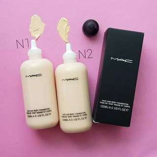 Mac fondation ukuran 120 ml