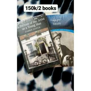 Paket Buku James Joyce (2pc)