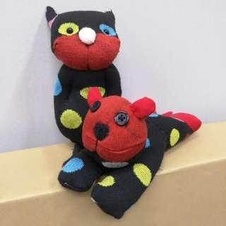 Hand Sew Sock Doll - Cat Series