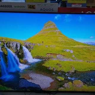 Sharp Android TV LC-60UA6800X Cukup DP + Free 1X Cicilan Tanpa CC