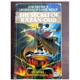 Legends of Lone Wolf Book 11 The Secret of Kazan-Oud