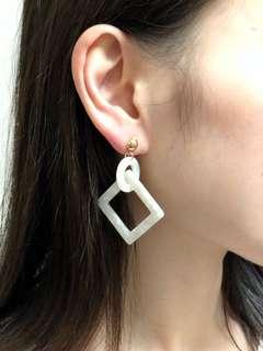 韓版斑紋耳環