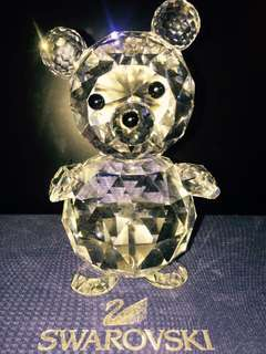 Swarovski 1987 Retired US and Canada Only Giant Bear