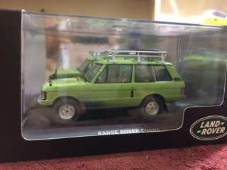 Rangerover  1:43 scale model