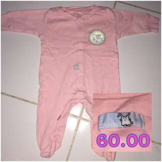 Pink Frogsuit Newborn for baby girl