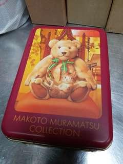 makoto muramatsu collection 鐵盒連毛巾
