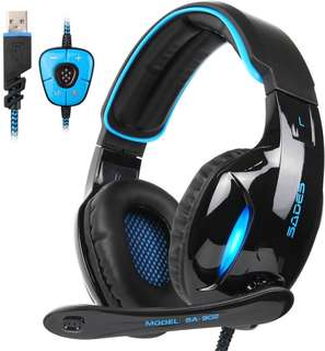 CHEAP!!  SADES SA-902 Gaming Headset!!