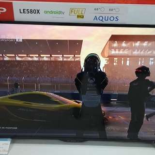 Sharp full smart tv LC-50LE580X Cukup DP + Free 1X Cicilan Tanpa CC