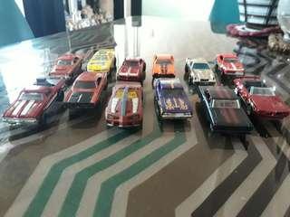 12 pcs. Asstd. Muscle cars (diecast)