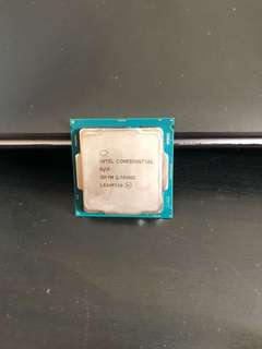Intel engineering sample i5-7500