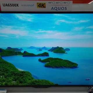 Sharp Smart TV 4K LC-50UA6500X Cukup DP + Free 1X Cicilan Tanpa CC