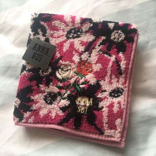 Anna Sui 正方 毛巾/手帕