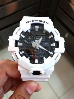 Tanpa DP Bunga 0% G-Shock GA-700-7ADR Kredit Tanpa CC