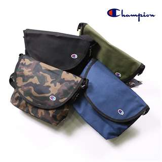 Champion 迷彩款式 單肩包帆布袋 男女合用 斜挎袋 日版
