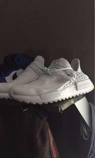 Adidas Pharrel Human Race NMD Boost Blank Canvas Trail