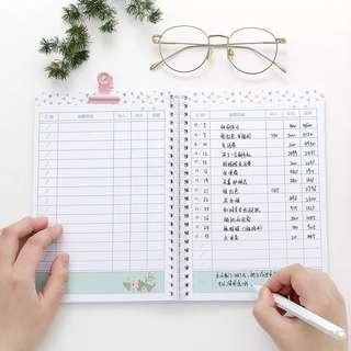 Financial Notebook