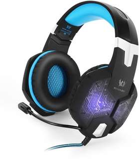 LED LIGHTS!!  Kotion G1000 Gaming Headset!!