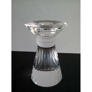 31 Swarovski Silver Crystal - Neo Classical Candle Stand (Large)