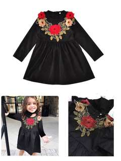 Girl Rose Dress