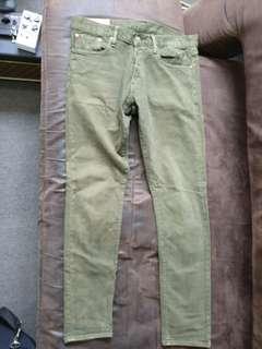 Vintage Polo Ralph Lauren Olive Jeans 32 X 32
