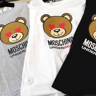 Moschino Tee 熊仔tee