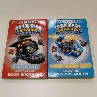 Skylanders Universe Books