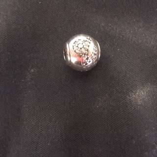 PANDORA ESSENCE STERLING SILVER ZODIAC STAR SIGN RETIRED CHARM CAPRICORN CZ