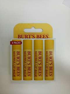 BURTS BEES ALL NATURAL Lip Balm body care 0.15oz
