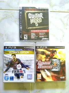 PS3 Games (each RM 40 including postage to Semenanjung)