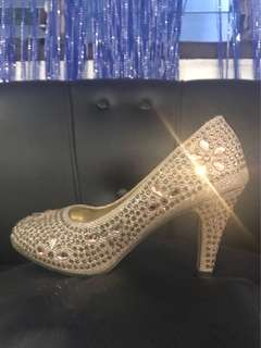 Cinderella Shoes (GOLD)