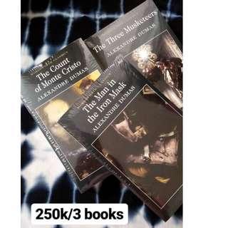 Promo Buku Alexandre Dumas (3 pc)
