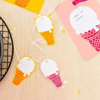 🚚 Ice Cream Gift Tags