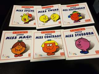Mr Men & Little Miss collection of books