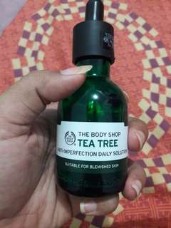 Serum the body shop tea tree