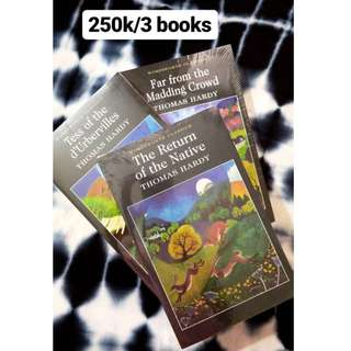 Paket Buku Thomas Hardy (3 pc)