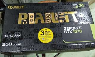 (Brand New & Sealed) GTX - 1070 Dual